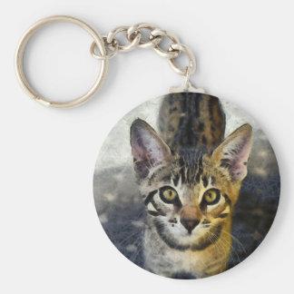 Bengal Cute Kitten Keychain