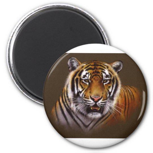 Bengal Face Tiger Magnet
