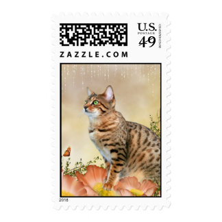 Bengal in Flowers Postage Stamps