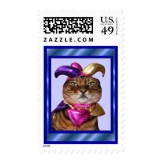 Bengal Joker Cat Postage