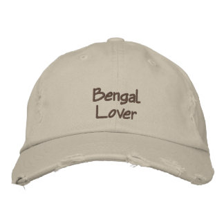 Bengal Lover Embroidered Baseball Cap / Hat