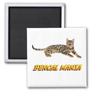 Bengal Mania Magnet
