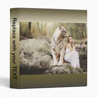 Bengal Tiger and Lady Binder