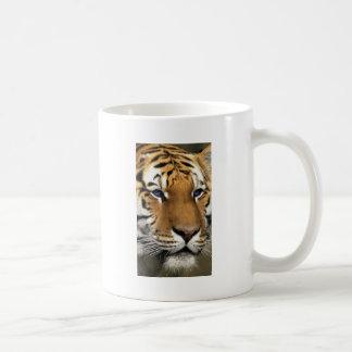 Bengal Tiger Animal Print blue Eyes Coffee Mug