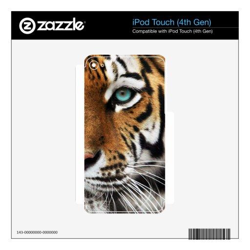 Bengal Tiger Animal Print Eye iPod Touch 4G Skin