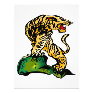 Bengal Tiger Art  #031 Full Color Flyer