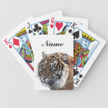 Bengal Tiger Bicycle Playing Cards