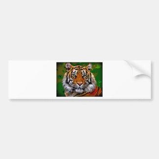 Bengal tiger bumper stickers