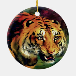 Bengal Tiger Ceramic Ornament