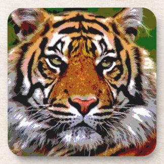 Bengal tiger drink coaster