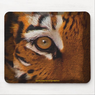 Bengal Tiger Face Eye of Tiger Wildlife Mousemat Mouse Pad