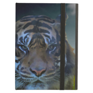 Bengal Tiger Face Watercolor Wildlife iPad Cover