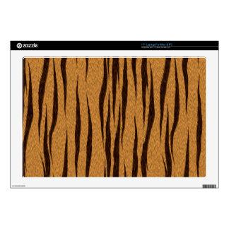 Bengal Tiger Faux Fur Laptop Skin