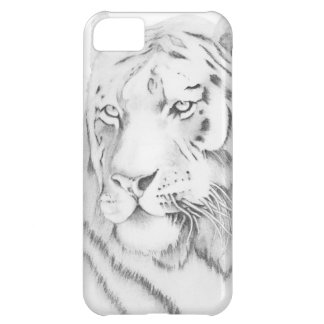 Bengal Tiger Graphite Drawing iPhone 5C Cover