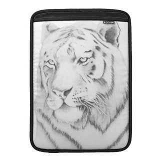 Bengal Tiger Graphite Drawing Sleeve For MacBook Air