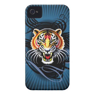 Bengal Tiger Growls iPhone 4 Case