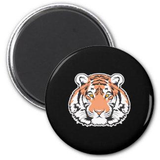 bengal tiger head magnet