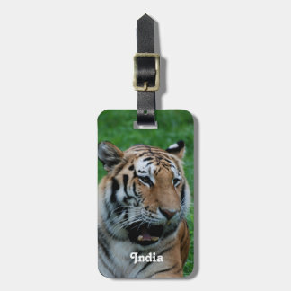 Bengal Tiger in India Luggage Tag