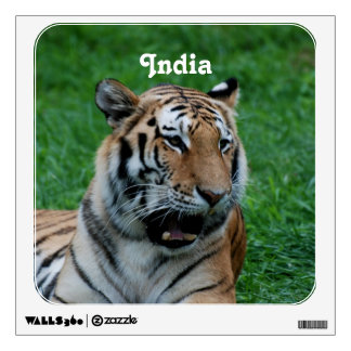 Bengal Tiger in India Wall Decal