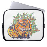 Bengal Tiger in the lush foliage Computer Sleeves