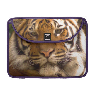 Bengal Tiger in thought Sleeve For MacBooks