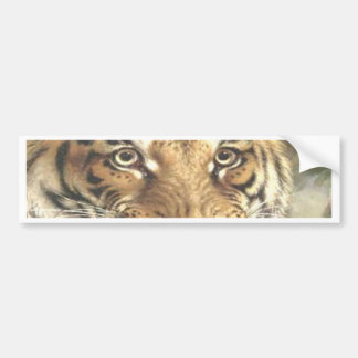 Bengal Tiger King and controller Bumper Sticker