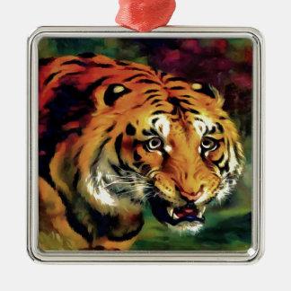 Bengal Tiger Metal Ornament