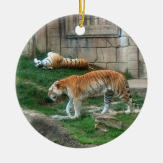 Bengal Tiger Ornament ~ Endangered Species Series