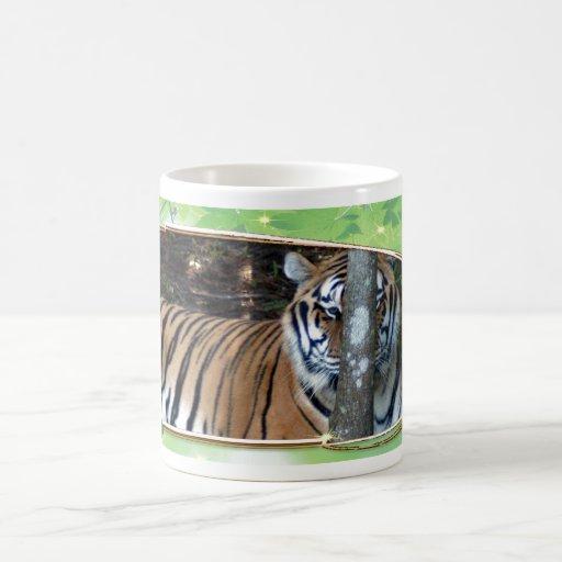 Bengal Tiger St. Patrick's Day Mug