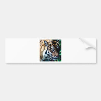 Bengal Tiger Toons Bumper Sticker