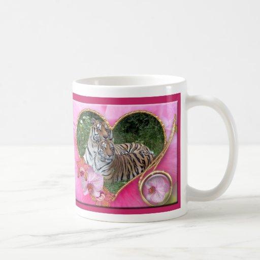 Bengal Tiger Valentine Mug