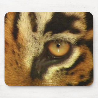 Bengal Tiger's Eye Big Cat Wildlife Mousemat Mouse Pads