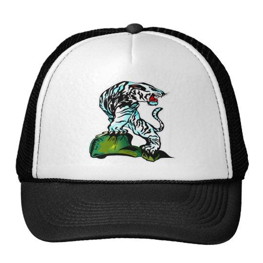 Bengal White Tiger Trucker Hat