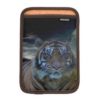 Bengal Wild Tiger Head Watercolor Big Cats Sleeve For iPad Mini