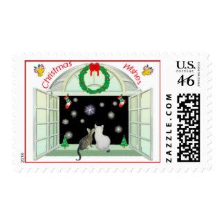Bengala y deseos Bobtail del navidad de los gatito