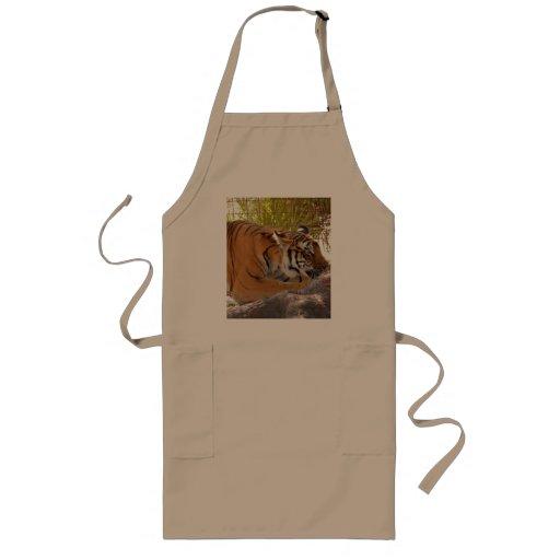Bengalí 001 del tigre delantales