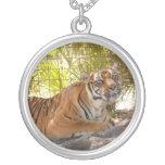 Bengalí 003 del tigre colgantes personalizados
