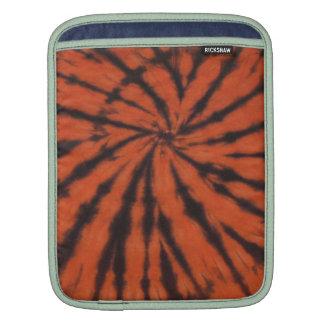 Bengals Black Orange Tie Dye Swirl iPad Sleeve