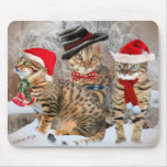 Bengal's Christmas Day gifts & Apparel Mouse Mat