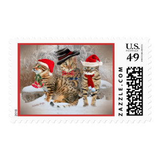 Bengal's Christmas Day gifts & Apparel Stamp
