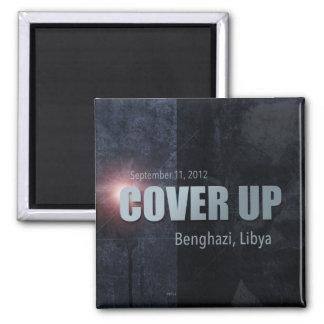 Bengasi cubre para arriba imán de nevera