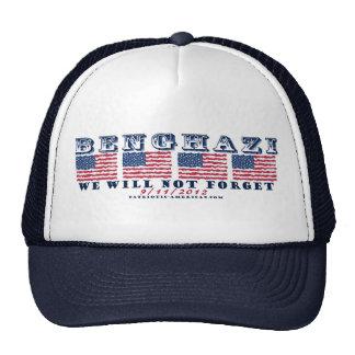 Bengasi - nunca olvidaremos el gorra del camionero