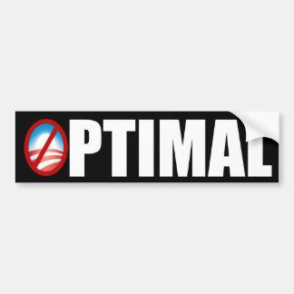 Bengasi - óptimo - Obama anti Etiqueta De Parachoque