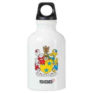 Benge Family Crest Water Bottle