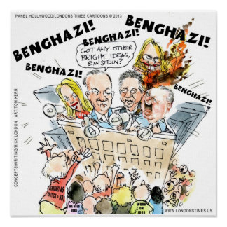 Benghazi As Politics We Need Jobs Satire Poster