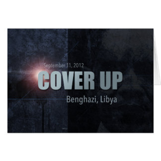 Benghazi Cover Up Card