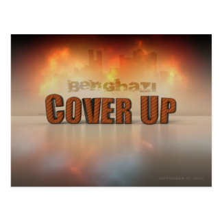 Benghazi Cover Up Postcard