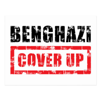 Benghazi Cover Up Postcard