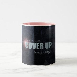 Benghazi Cover Up Two-Tone Coffee Mug