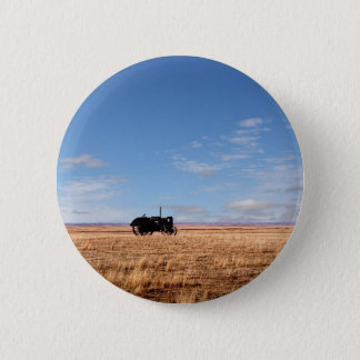 Bengough Tractor on the Prairies Pinback Button